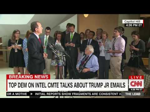 Thumbnail: Rep. Schiff Press Availability on Release of Donald Trump Jr.'s Email on Russia Meeting