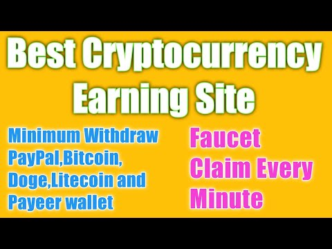 Earn Cryptocurrency Every Minute/ how to earn money without investment