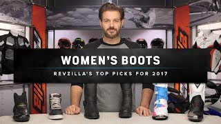 Best Women's Motorcycle Boots & Shoes 2017 at RevZilla.com