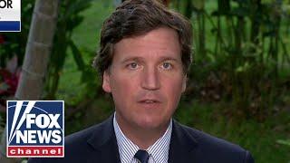 Tucker Carlson tears into Biden's immigration policy live from El Salvador