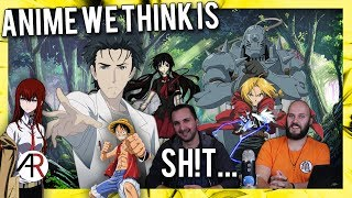Anime Chat Cast | What popular anime do we dislike and why?