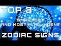 Top 3 Smartest and Most Intelligent Zodiac Signs