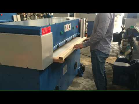 Hand Operated Hydraulic Washing Foam Sponge Die Cutting ...