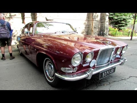 1963 Jaguar MK10 Automatic Exterior and Interior - Saint Catherine Street, Montreal, Quebec, Canada