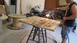 Torch Method Coffee Table Project