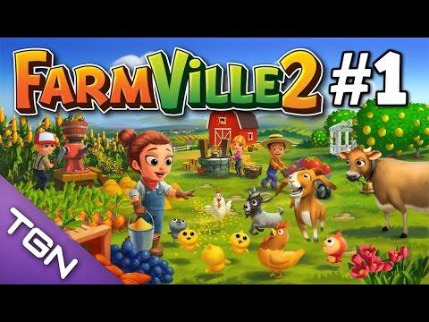 Juegos Del Facebook | FarmVille 2: Primeros Pasos #1 | Enriquemovie