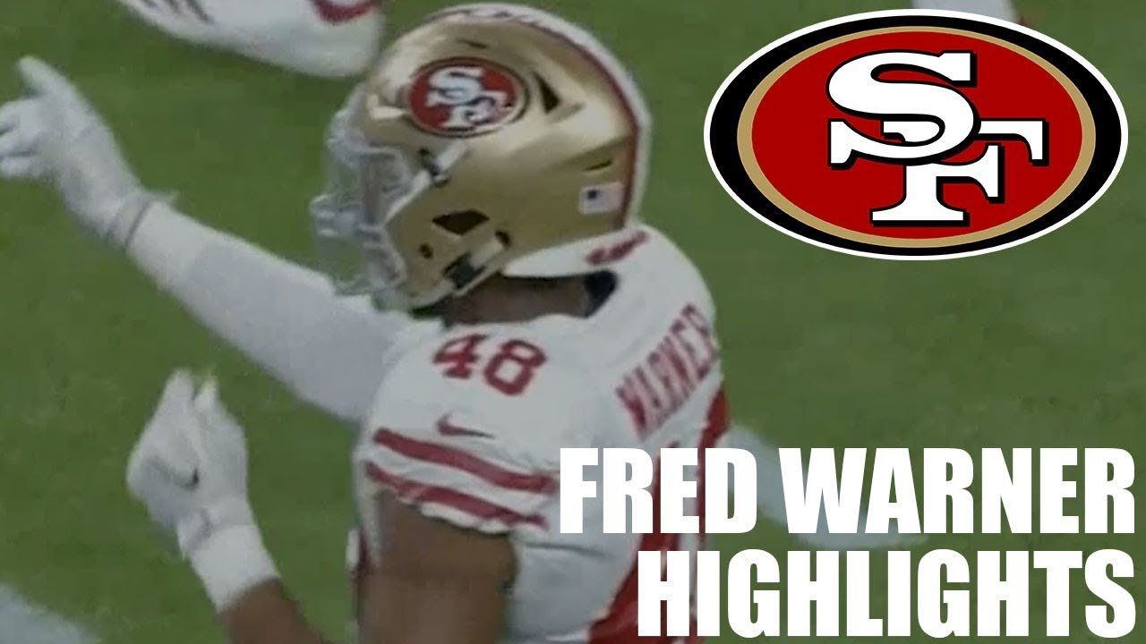 460c5e5a2 Fred Warner 49ers vs. Texans Preseason Highlights 2018 - YouTube