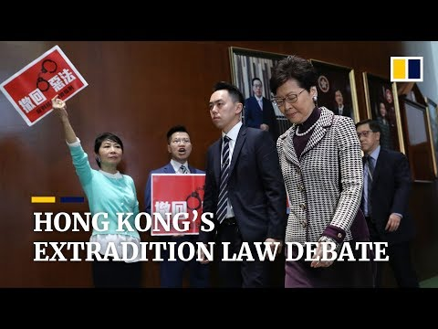 Proposal to include China in Hong Kong extradition law sparks debate