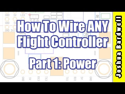 Flight Controller Wiring For Beginners - PART 1 - Power