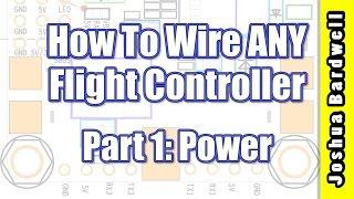 Flight Controller Wiring For Beginners - PART 1 - Power