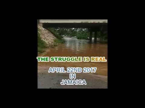 Jamaica Under Heavy Flood after a Weekend of Rain fall.