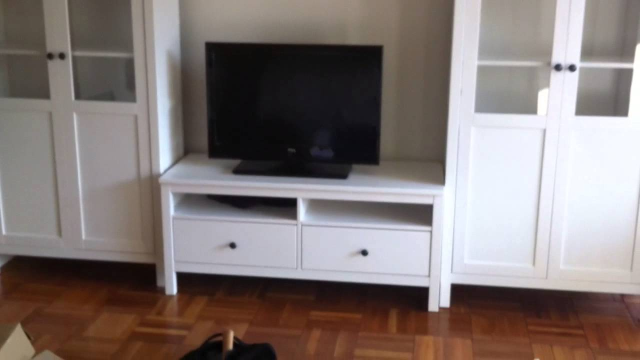 Hemnes Tv Stand Gray Brown : ikea hemnes entertainment center assembly in DC MD VA by Furniture