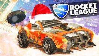 Rocket League - Новогодний Хоккей! (Обновление)