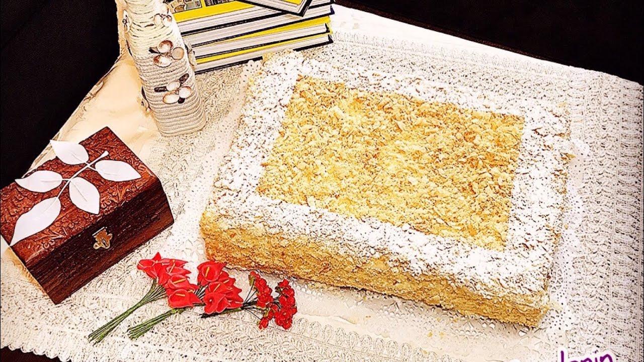 Napoleon Tortu Pastasi Qat Qat Xemirin Hazirlanmasi Milfoy