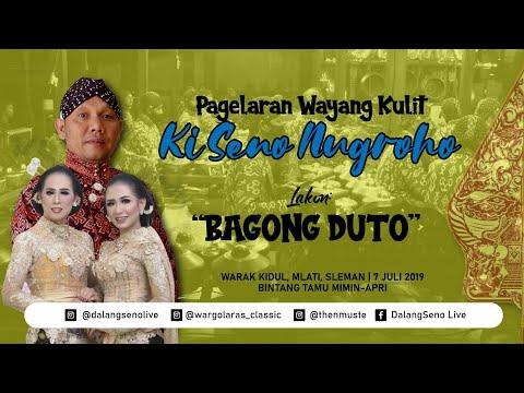 #LiveStreaming KI SENO NUGROHO - BAGONG DUTO