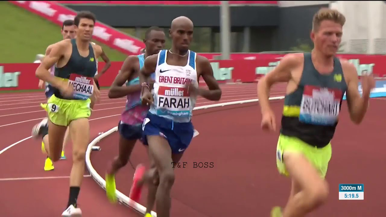 Download Mo Farah Win Mens 3,000m Birmingham Diamond League 2017