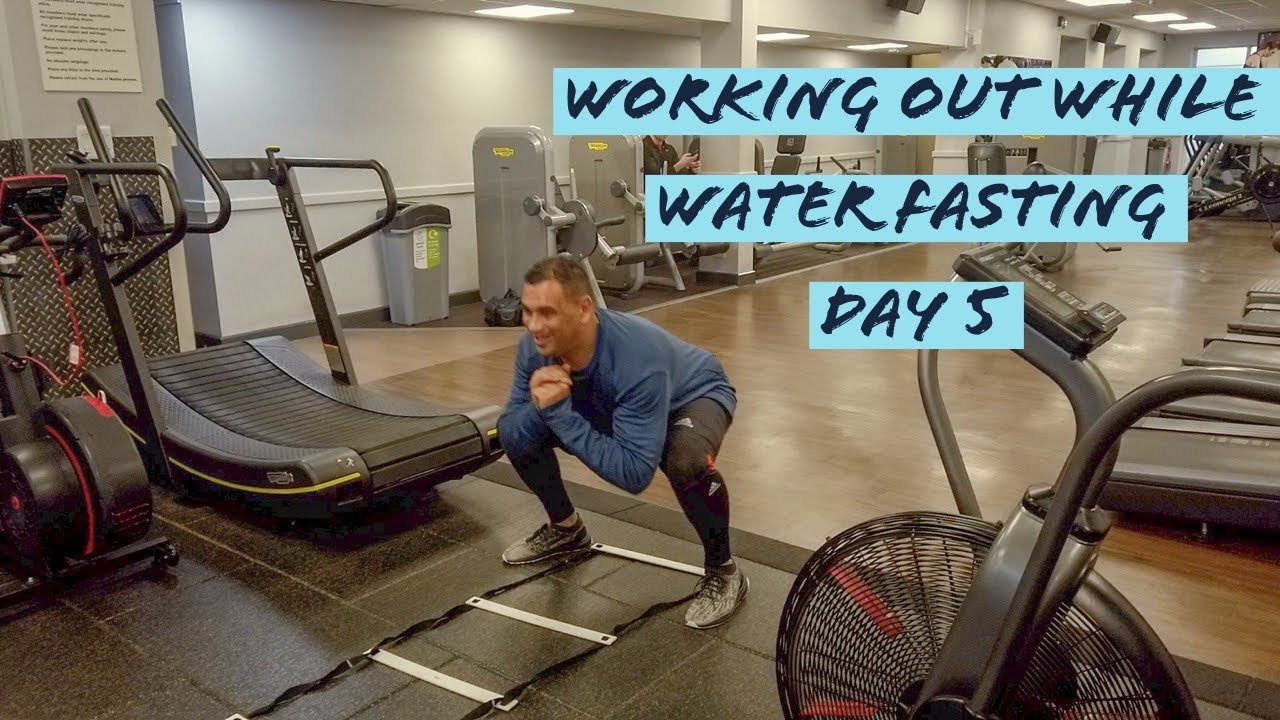 Working Out While Water Fasting | Water Fast Vlog Vlog Day 5 Update