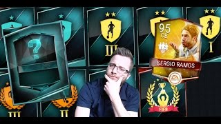 FIFA Mobile 100 Token Exchange Pack Opening, TOTW Master Set Completion and Season 3 Rewards!
