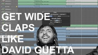 Get WIDE Claps Like David Guetta