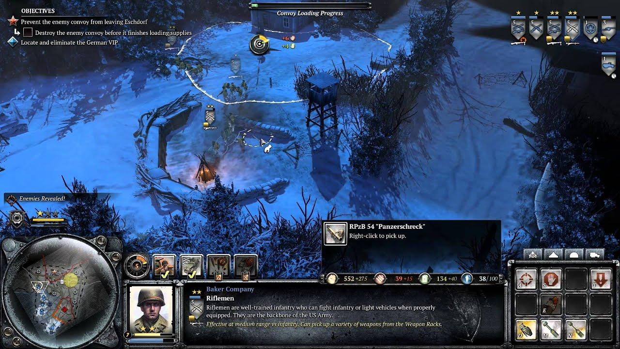 Coh 2 Ardennes Assault Mission 17 Hd Eschdorf Youtube
