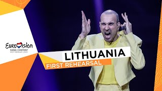 The Roop - Discoteque - First Rehearsal - Lithuania 🇱🇹 - Eurovision 2021