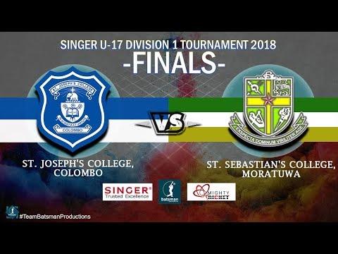 U-17 Division 1 Tournament 2018 - FINALS [Josephs vs Sebastians]