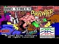 Bad Street Brawler gameplay (PC Game, 1987)