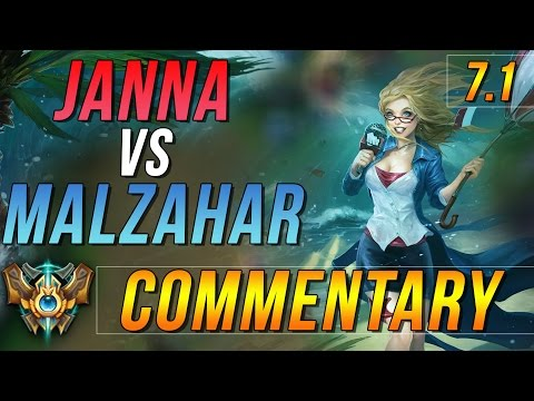 [7.1] Challenger Janna Support Commentary