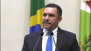 Suplente Renato Pike se despede do Parlamento