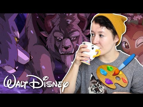 Drawing Disney Movies In 90's ANIME STYLE! 🎨