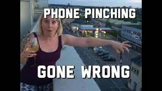 EXTREME PHONE PINCH CHALLENGE GONE WRONG || compilation