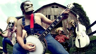 "Slipknot's ""Psychosocial"" with more banjos and straw hats. Leo Mora..."