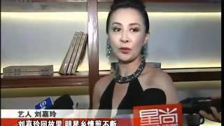 刘嘉玲低胸透视裙捞金 欲在苏州养老