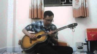 Nhà anh nhà em - acoustic guitar