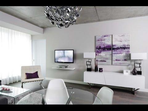 Cuadros modernos modernos abstractos al leo para el for Decorar salon con cuadros grandes