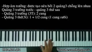 Hướng dẫn hợp âm trưởng - Hợp âm thứ - Hung Music
