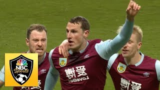 Chris Wood breaks deadlock v. Newcastle | Premier League | NBC Sports Video