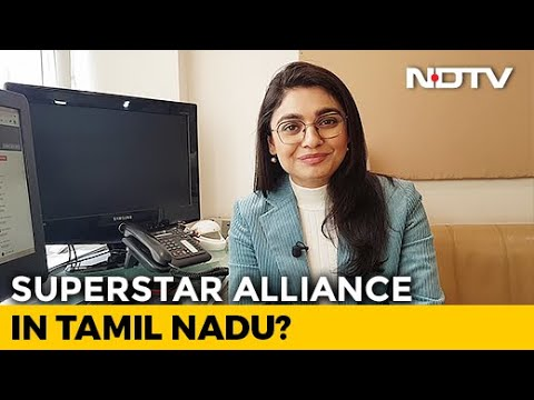 NDTV Newsroom Live: Kamal Haasan. Rajinikanth Hint At An Alliance In Tamil Nadu - YouTube