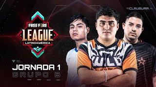 Free Fire League 2020 - Clausura | Grupo B | Jornada 1