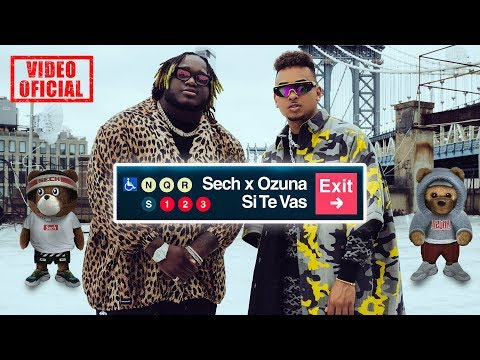 Download  Sech, Ozuna - Si Te Vas  Oficial Gratis, download lagu terbaru