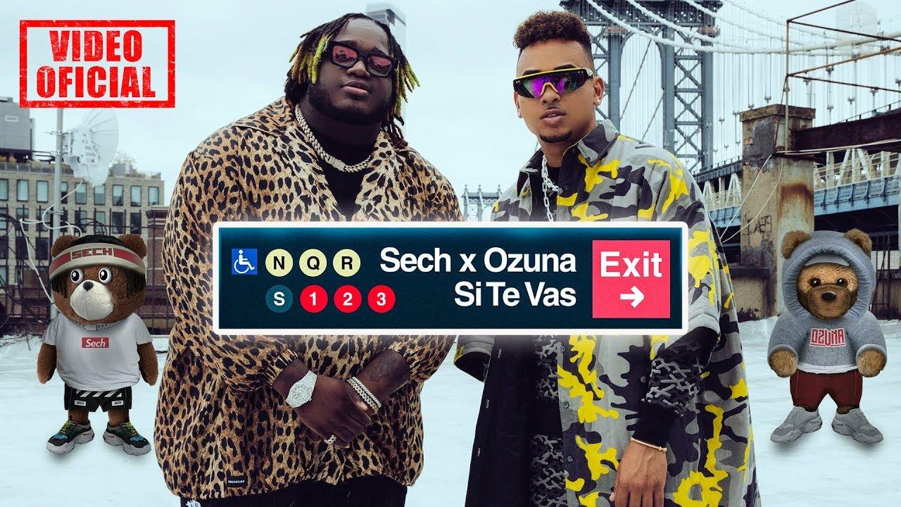 Sech, Ozuna - Si Te Vas (Video Oficial)