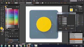 Easiest Material Design Icon Tutorial - Using Actions [Adobe Illustrator]