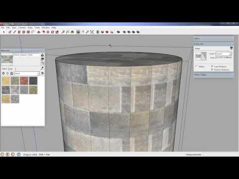 fovts - SU111 - Vật liệu trong SketchUp