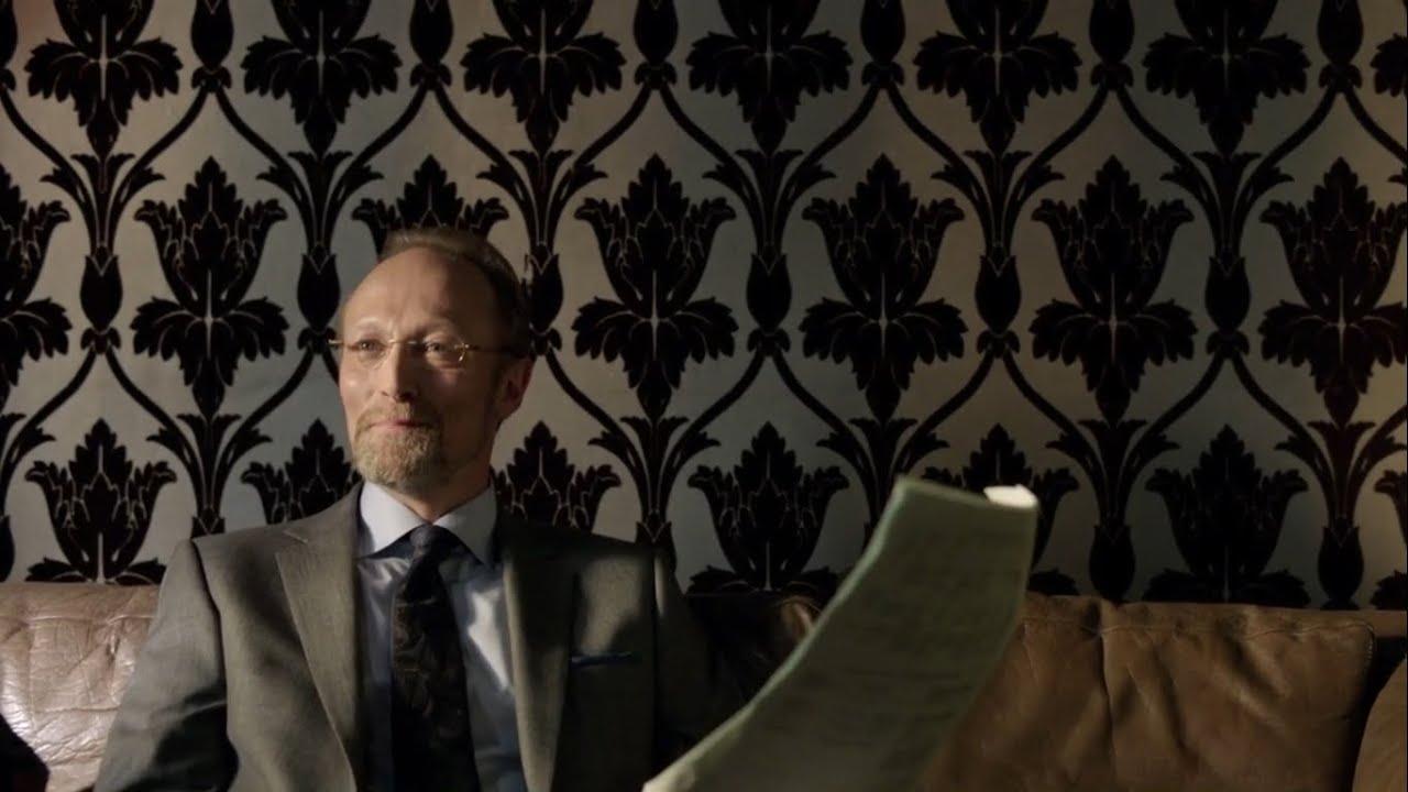 Magnussen procurando o ponto de pressão de Sherlock