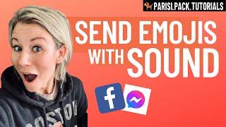 [UPDATE] Send Emojis With Sound In Messenger screenshot 3