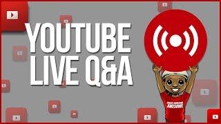 🔴 EMERGENCY! YOUTUBE MONETIZATION 2018 UPDATE | YouTube LIVE Q&A