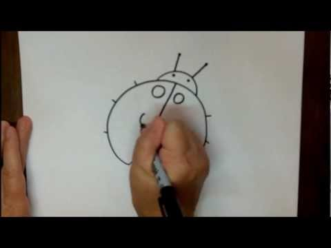 How to Draw a Ladybug Step by Step Easy Drawing Tutorial ...