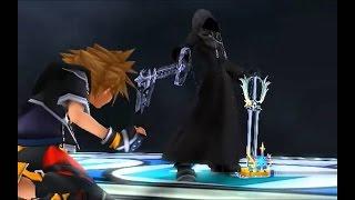 Kingdom Hearts HD 2.5 Remix | Sora VS Roxas Full Fight + Cinematics Spanish | 720p HD 60fps