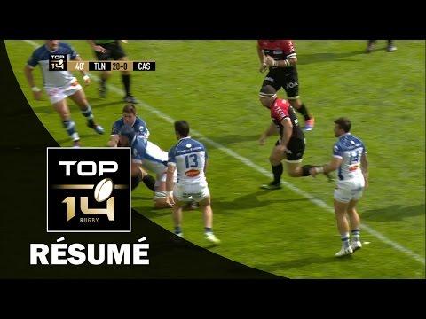 TOP 14 - Résumé Toulon-Castres: 23-14 - J24 - Saison 2016/2017