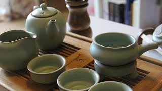 How to make Chinese kungfu tea with English and Chinese subtitle
